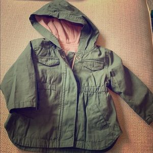 6-12 month green jacket